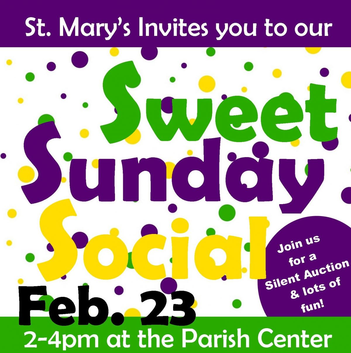 Sweet Sunday Social
