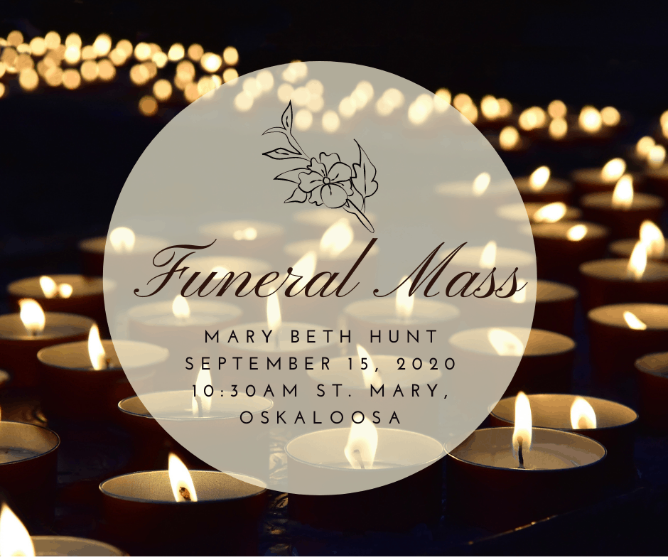 Funeral Mass: Mary Beth Hunt
