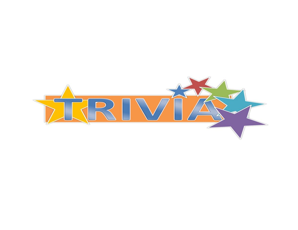 "IT""S TRIVIA TIME  JOIN YOUR FELLOW PARISHIONERS IN AN AFTERNOON OF FUN MARCH 7"